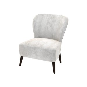3D chair seating wingback