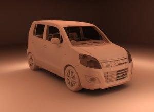 suzuki wagon r 3D model
