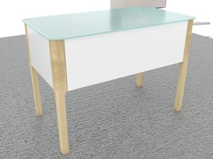 scandinavian bathroom table desk model