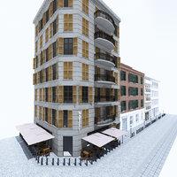 street 3D model