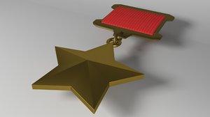 soviet war 3D model
