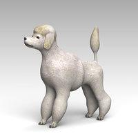 3D poodle