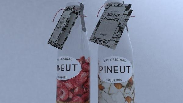 3D pineut liquers