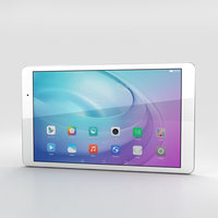 3D huawei mediapad media model
