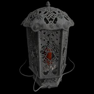 latern candle 3D model