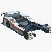 3D aircraft towing tractor