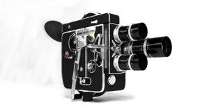 vintage bolex h16 reflex 3D model
