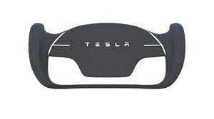 3D tesla roadster steering wheel model