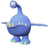 monster animation 3D model