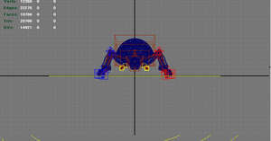 3D beetle bug insect