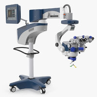surgical led microscope generic 3D model