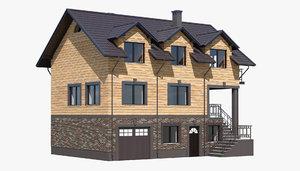 3D cottage