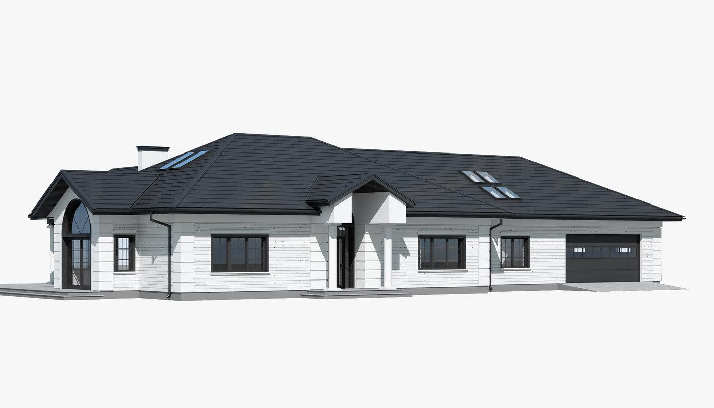 cottage 3D model
