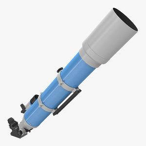 3D refractor telescope generic