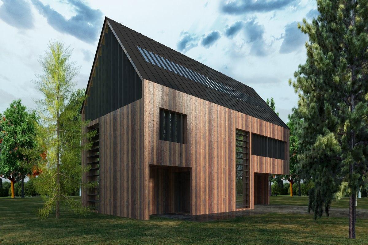 modern house 3 3D