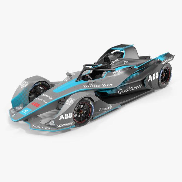 3D model gen2 formula e car