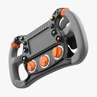 Formula E Steering Wheel