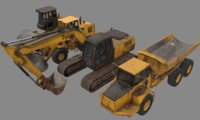 Construction Vehicle Pack