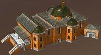 3D model fantasy house medieval