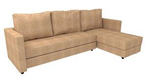 sofa ikea 3D model