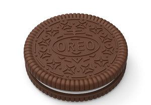 oreo cookie 3D