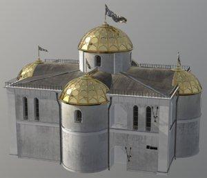 3D fantasy house medieval