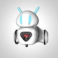 small educational robot model