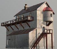 fantasy house medieval 3D