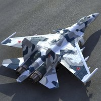 3d su35 flanker