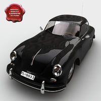resolution porsche 356b 3d 3ds