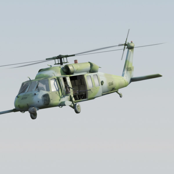MH60G Pavehawk VRAY