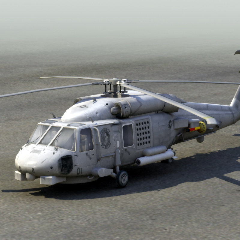 3d model sh60b seahawk sea hawk