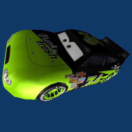 3d model trunk fresh