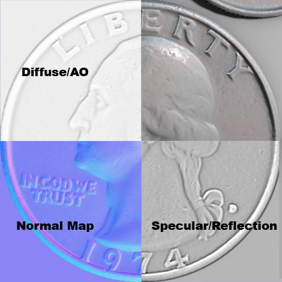 Texture Tif Coins Coin US - Us coin map