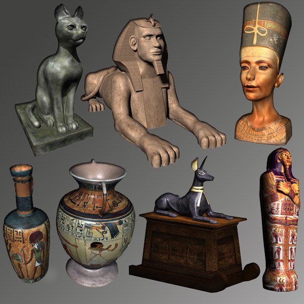 egyptian ancient artifacts max