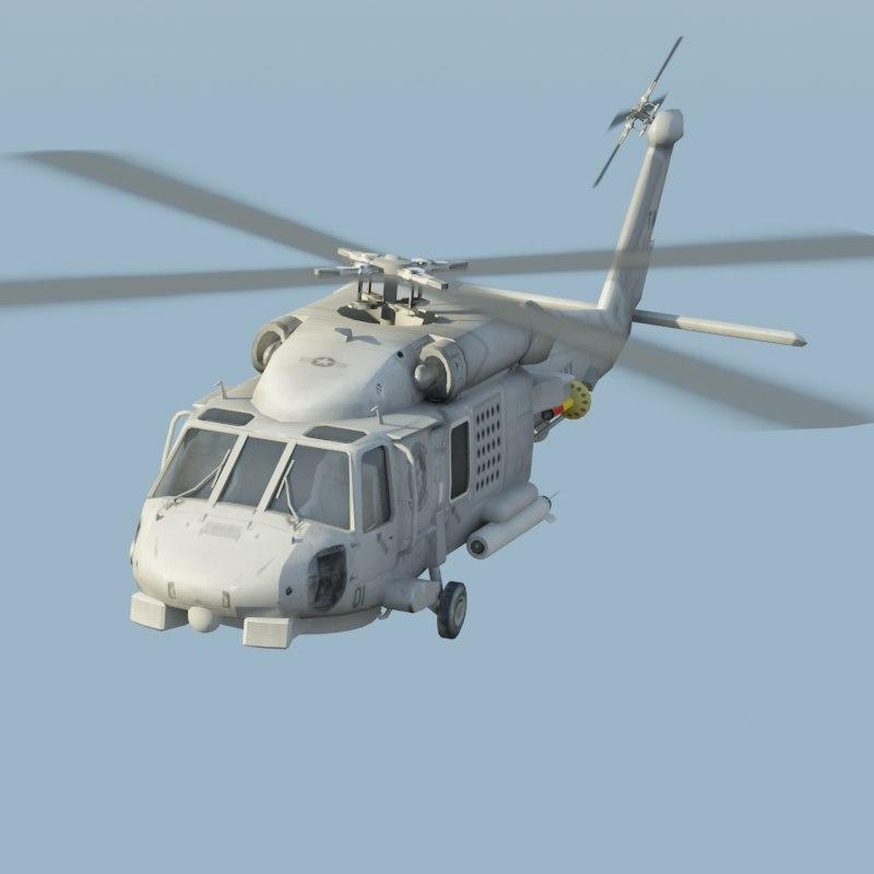 sh60b navy 3d model
