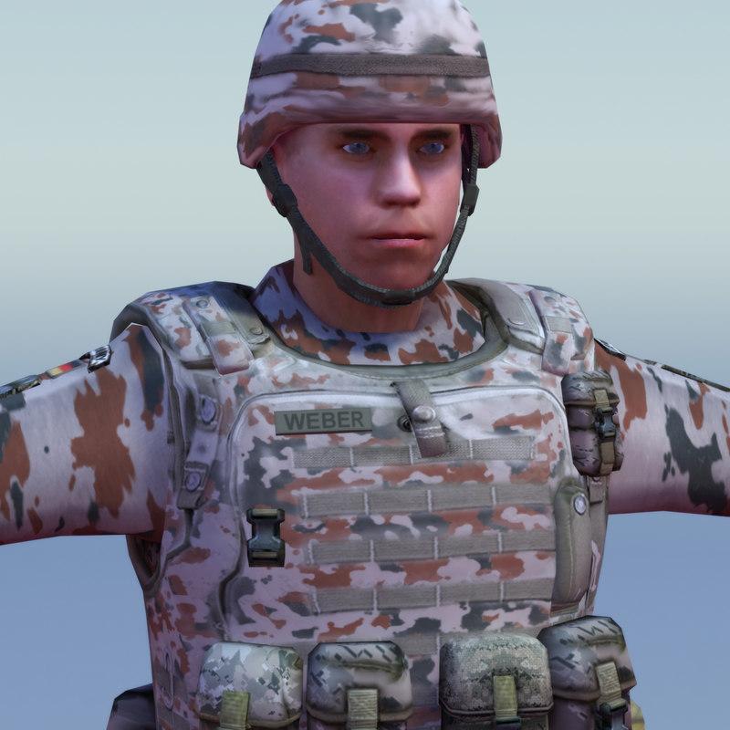 3d bundeswehr infantry pre-posed