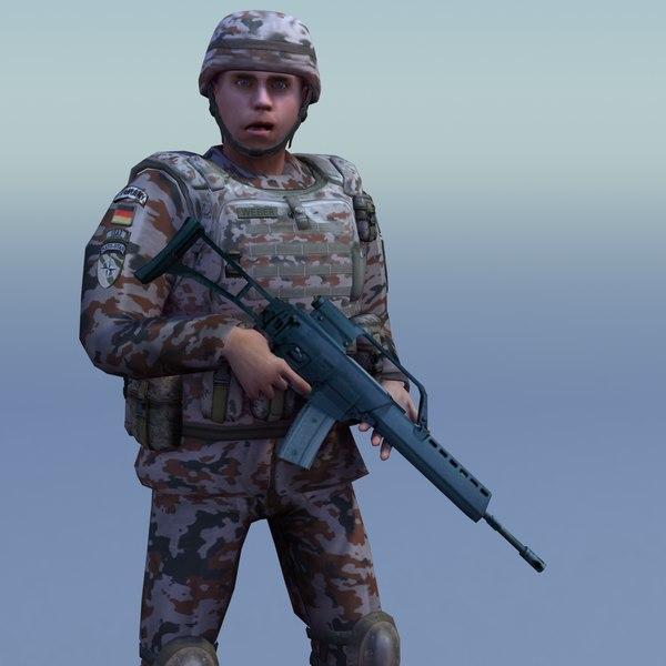 max bundeswehr desert infantry rigged