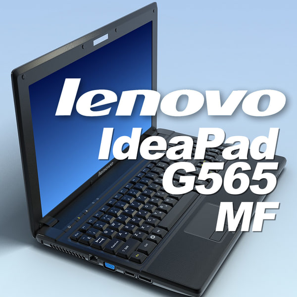 3d model notebook lenovo ideapad g565
