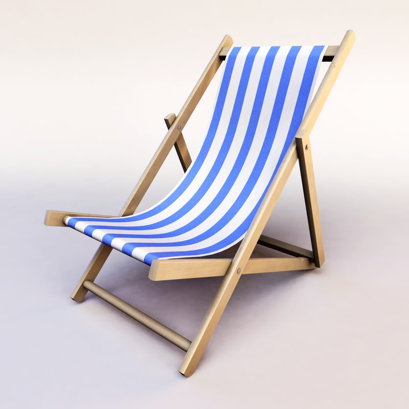 Beach lounge chair png - Beach Chair 3d Model