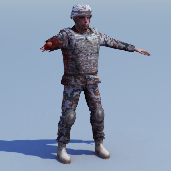 3d army casualty model