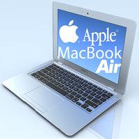 3d notebook apple macbook air