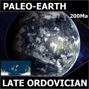 ordovician earth 3d model