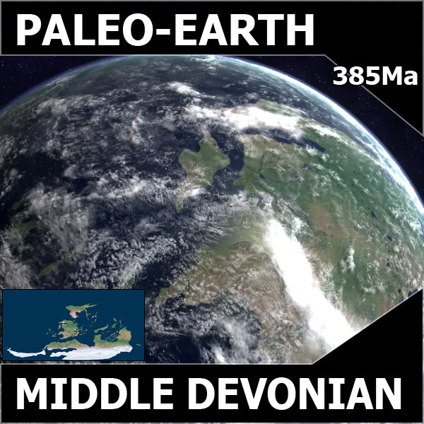 Middle Devonian Earth