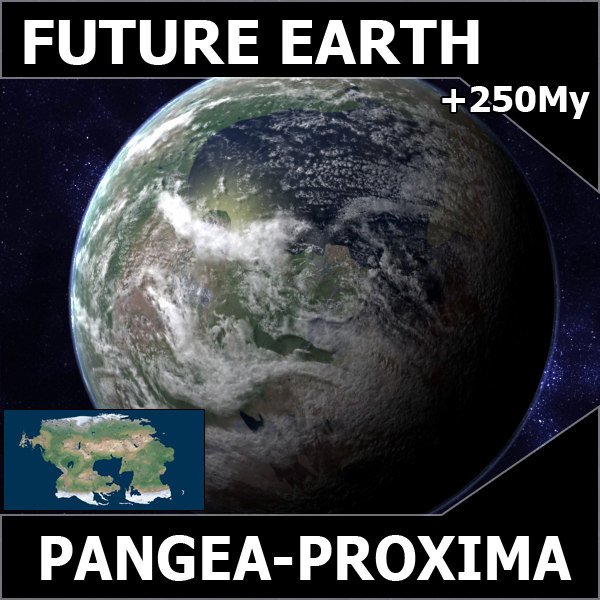 pangea proxima future earth 3d max