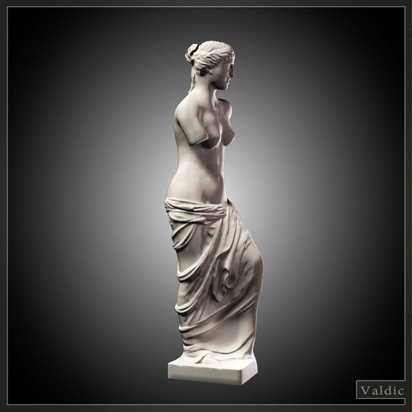 dwg venus milo statue
