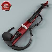 c4d yamaha sv-150 silent violin