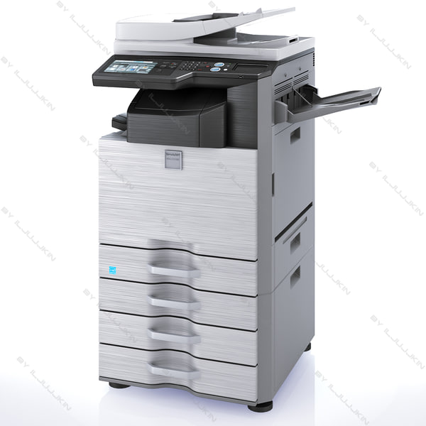 mfp sharp mx-2310u 3d model