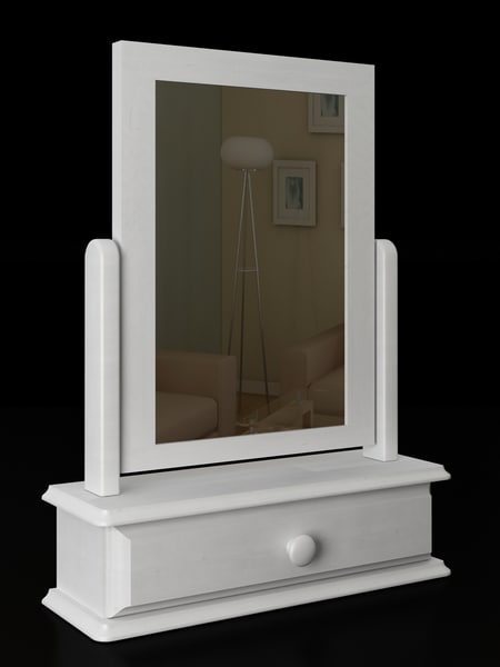 mirror wood modelled max