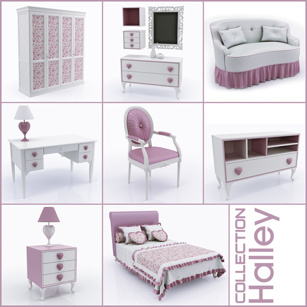 "Collection of children""s furniture Halley (2)(1)"